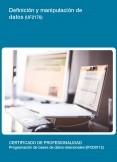UF2176 - Definición y manipulación de datos