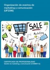 Libro UF2396 - Organización de eventos de marketing y comunicación, autor Editorial Elearning