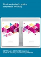 Libro UF2400 - Técnicas de diseño gráfico corporativo, autor Editorial Elearning
