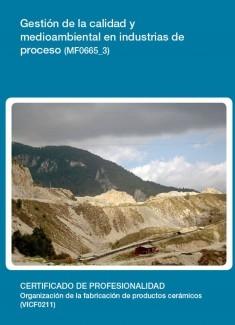 MF0665_3 - Gestión de la calidad y medioambiental en industrias de proceso