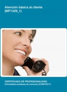 MF1329_1 - Atención basica al cliente