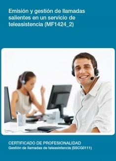 MF1424_2 - Emisión y gestión de llamadas salientes en un servicio de teleasistencia