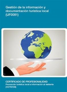 UF0081 - Gestión de la información y documentación turística local
