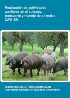 UF0158 - Operaciones auxiliares en el cuidado, transporte y manejo de animales