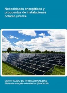 UF0213 - Necesidades energéticas y propuestas de instalaciones solares