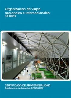 UF0326 - Organización de viajes nacionales e internacionales