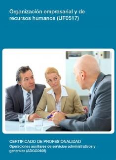 UF0517 - Organización empresarial y de recursos humanos