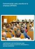 UF0521 - Comunicación oral y escrita en la empresa