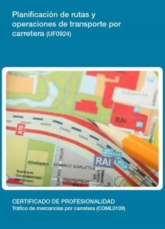 UF0924 - Planificación de rutas y operaciones de transporte por carretera