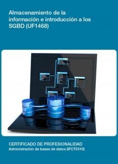 UF1468 - Almacenamiento de la información e introducción a SGBD