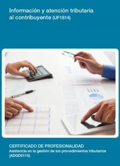 UF1814 - Información y atención tributaria al contribuyente