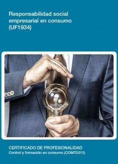 UF1934 - Responsabilidad social empresarial en consumo