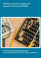 UF2381 - Gestión económica básica del pequeño comercio