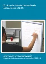 Libro UF2406 - El cliclo de vida del desarrollo de aplicaciones, autor Editorial Elearning