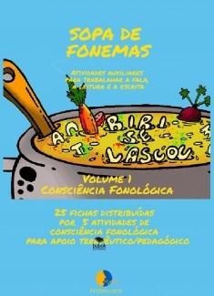 Sopa de Fonemas Volume 1 - Consciência Silábica