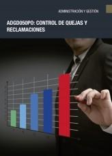 Libro ADGD050PO - Control de quejas y reclamaciones, autor Editorial Elearning