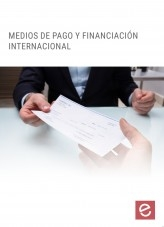 Libro Medios de pago y financiación internacional, autor Editorial Elearning
