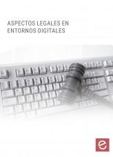 Libro Aspectos legales en entornos digitales, autor Editorial Elearning