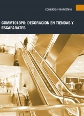 Libro COMM013PO - Decoración en tiendas y escaparates, autor Editorial Elearning