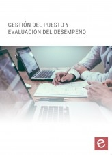 Libro Gestión del puesto y evaluación del desempeño, autor Editorial Elearning