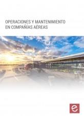Libro Operaciones y mantenimiento en compañías aéreas, autor Editorial Elearning