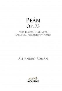 Peán, Op. 73