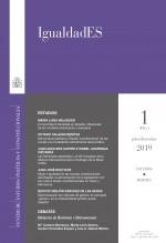 Libro IgualdadES, nº 1, julio-diciembre, 2019, autor EDITORIALCEPC