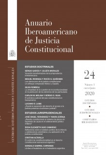 Anuario Iberoamericano de Justicia Constitucional, nº 24-1, enero-junio, 2020