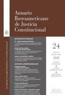 Anuario Iberoamericano de Justicia Constitucional, nº 24-2, julio-diciembre, 2020