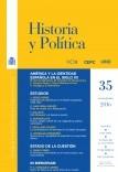 Historia y Política, nº 35, enero-junio, 2016