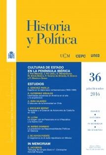 Historia y Política, nº 36, julio-diciembre, 2016