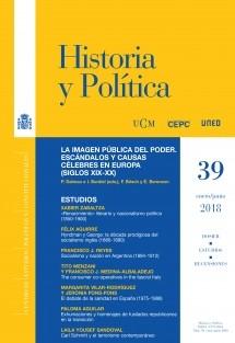 Historia y Política, nº 39, enero-junio, 2018