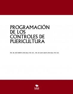 PROGRAMACIÓN DE LOS CONTROLES DE PUERICULTURA
