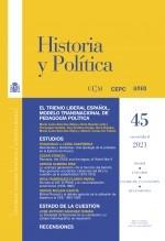 Libro Historia y Política, nº 45, enero-junio, 2021, autor EDITORIALCEPC