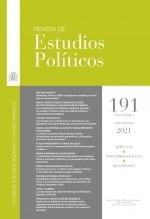 Libro Revista de Estudios Políticos, nº 191, enero-marzo, 2021, autor EDITORIALCEPC