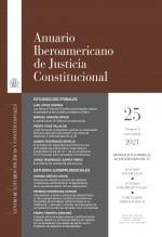 Libro Anuario Iberoamericano de Justicia Constitucional, nº 25 (I), 2021, autor EDITORIALCEPC