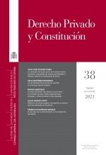 Libro Derecho Privado y Constitución, nº 38, 2021, autor EDITORIALCEPC